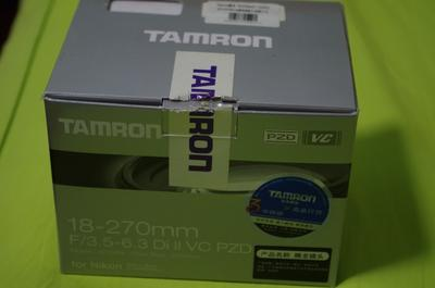 Tamron 腾龙 18-270mm F/3.5-6.3 Di II VC PZD (尼康卡口)