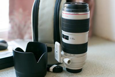 佳能 EF 70-200mm f/2.8L IS II USM 极品成色