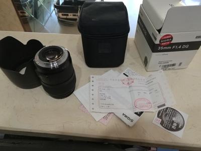 适马 35mm f/1.4 DG HSM(A)佳能口国行有发票