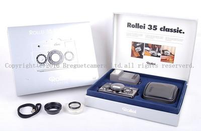 【收藏级美品】ROLLEI/禄来 Rollei 35 classic 带40/2.8 HFT