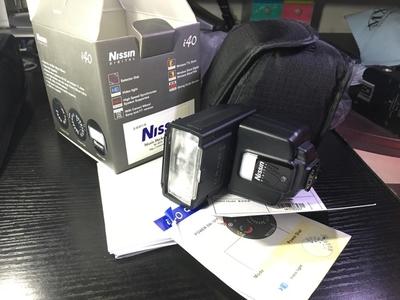 日清 i40 索尼 闪光灯 Nissin Mi接口