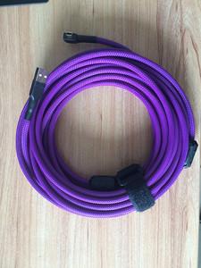 8米高速弯头紫色数据线 USB线全新  千亿国际娱乐官网首页尼康相机连接线 全新,