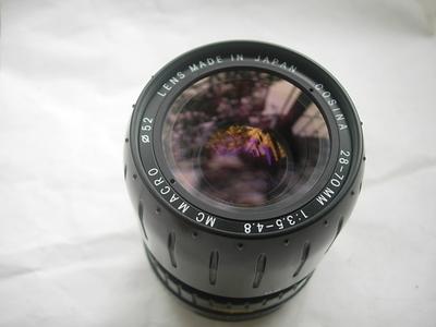 很新最小型的日本原装确善能28--70mm镜头,收藏使用上品!