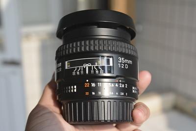 尼康 AF 35mm f/2D 大学生自用升级器材出了