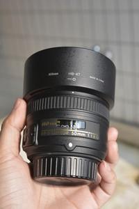 尼康 AF-S 50mm f/1.8G  大学生自用,升级器材甩了