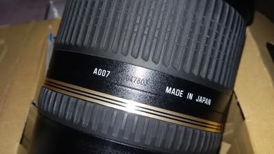 腾龙SP 24-70mm f/2.8 镜头 97新