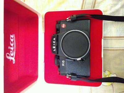 徕卡莱卡R6 Leica R6机身,成色很不错,不可多得的佳品!