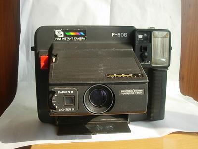 很新富士一次成像F50S经典相机,收藏使用