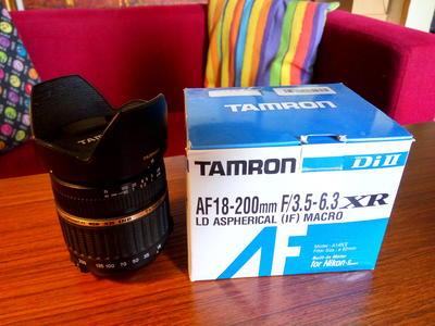 腾龙 18-200mm f/3.5-6.3 A14尼康口
