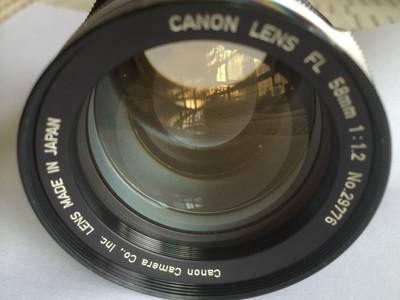 Canon/佳能 FL  58/1.2 大光圈 手动