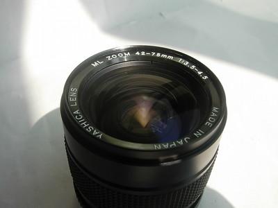 很新亚西卡ML42--75mm镜头,成像很好,蔡司卡口,可转接各种数码相机使用