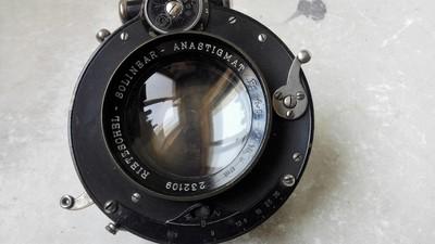 德国RIETZSCHEL-SOLINEAR 165/4.5镜头,带快门。