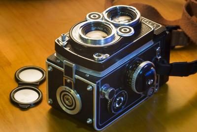 禄莱3.5F 经典120双反相机