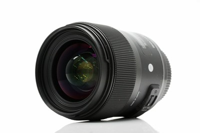 Sigma适马 35mm F1.4 DG Art全幅单反人像风景镜头尼康口支持置换