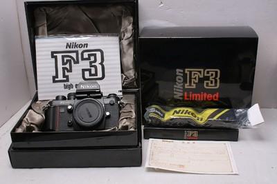 全包装新同品 尼康 Nikon F3 Limited 尼康F3金字限量版
