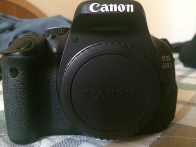 佳能/Canon EOS 600D 机身 15年11月购入