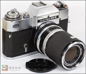 特价德国 蔡司/福伦达  lcarex 35S 经典 收藏 胶片相机带135mm F4镜头