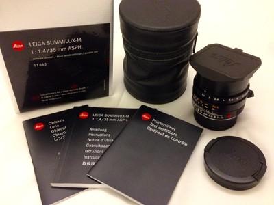 莱卡 Leica Summilux-M 35 mm f1.4 ASPH FLE