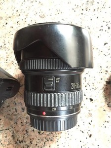canon佳能红圈广角镜头20-35l f2.8