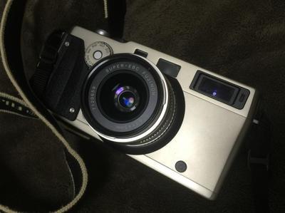 富士TX-1 XPAN套机 宽幅胶片神器 带45mm镜头 附件齐全