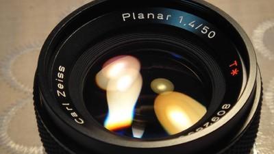 contax  planar 50/1.4 MMJ