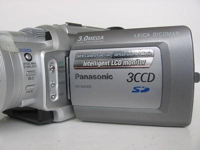 高端磁带DV摄像机 Panasonic/松下 MX500 婚庆录像采集首选