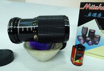 美德康80-200F4.5恒定光圈富士卡口镜内有轻微霉雾原包装未用