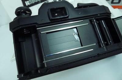一台带包装说明书的理光XR-8 全机械(最高2000分之一秒类似FM2)