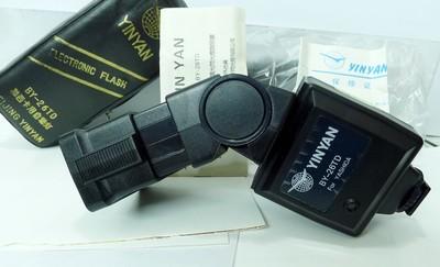 银燕BY-26TD 两触点低压触发自动闪光灯(数码相机可使用)