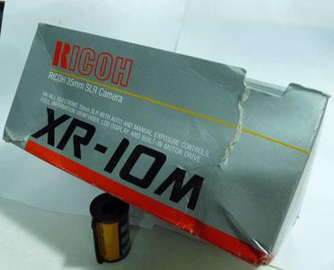 库存崭新未用理光XR-10M(PK口,带多次曝光)135胶片机身