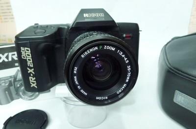 库存崭新未用--理光XR2000+35-70变焦镜头+皮套(PK口)换宾得K3
