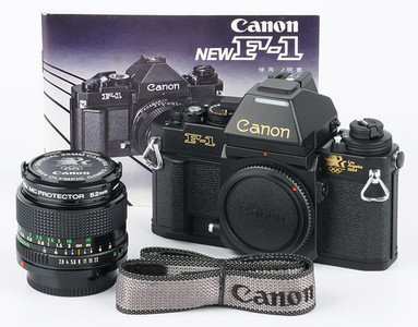 佳能新F1 Canon New F-1 AE顶 NFD24/2.8 1984洛杉矶奥运会纪念版