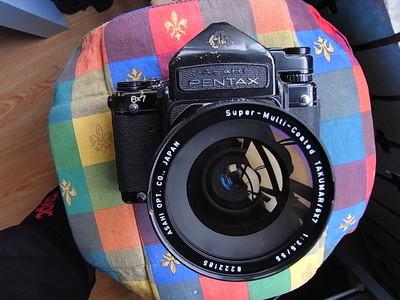 经典珍藏版宾得(Pentax) 67II机身+55/3.5镜头(难得98新)