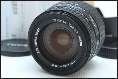 适马 28-135mm f/3.8-5.6 ASP IF MACRO