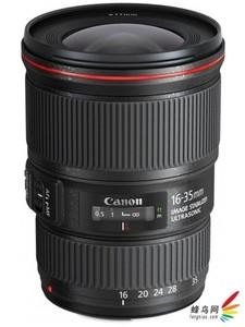 佳能 EF 16-35mm f/4L IS USM 广角变焦单反镜头