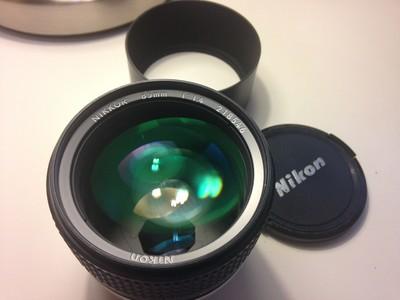 尼康人像镜头 85mm 1:1.4 AIS