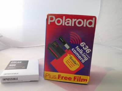 宝丽来636 polaroid 636 Talking Camera拍立得 原包装盒+肩带