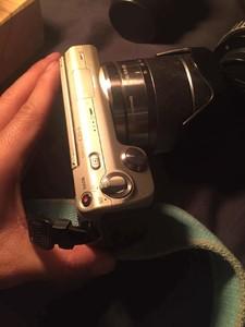 索尼 Sony NEX5C 套机 带18 55镜头 转接环等