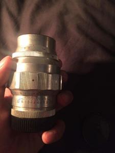 其俄头 尤比杰尔-37A 3.5/135 白银头 M42他
