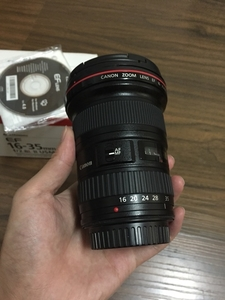 佳能 EF 16-35mm f/2.8L II USM 自用98新