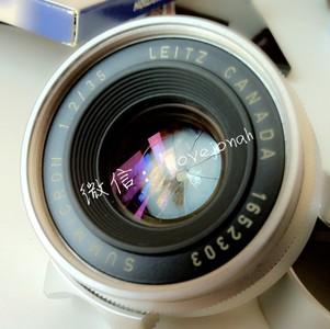 第一代徕卡螺口八枚玉镜头Leica Summicron 35/2 L39超完美成色
