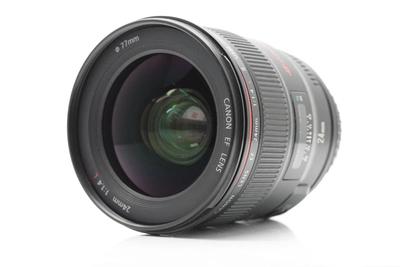 精品推荐:佳能 EF 24mm f/1.4L II USM  99新支持置换