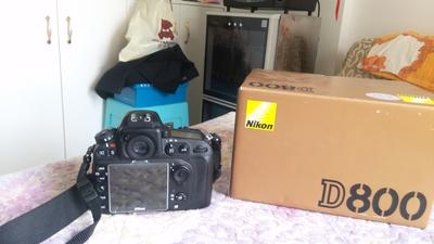 贵阳本地出 尼康 D800单反相机 行货99新
