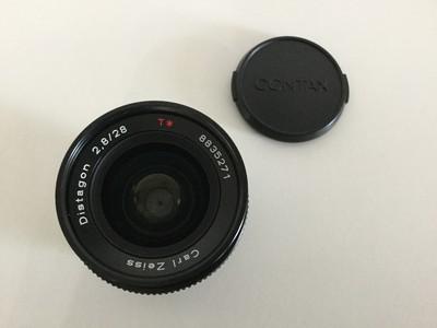 收藏佳品 CONTAX Y/C口 28/2.8 (88号段)