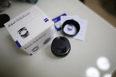 ZEISS Planar T* 50mm f/1.4 ZE 99新 佳能口  西安本地交易