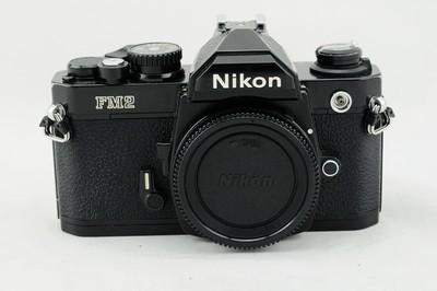尼康 NIKON FM2 二手胶片机身 手动机械单反相机 永恒的经典