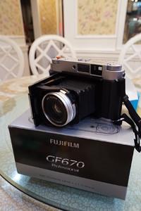 Fujifilm GF670 全套行货在保带所有官方配件
