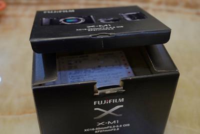 自家用99新富士Fujifilm X-M1单机身出售