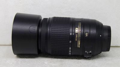 尼康 AF-S DX 尼克尔 55-300mm f/4.5-5.6G ED VR长焦防抖镜头