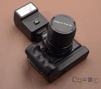 A PENTAX 宾得 相机 program  A+底座+闪光灯+35-70/4 A镜头 套机